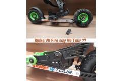 Bardzo terenowo - SKIKE V9 FIRE 200 czy V9 Tour 200mm?