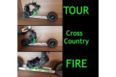 3 w 1 - Skike V9 Tour & Fire & Cross-Country