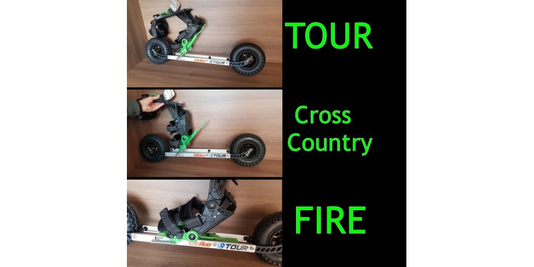 3 w 1 - Skike V9 Tour & Fire & Cross-Country