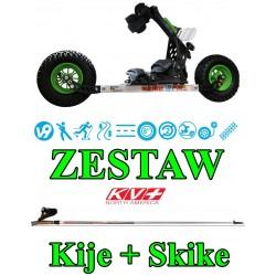 Zestaw SKIKE V9 FIRE 200 mm...