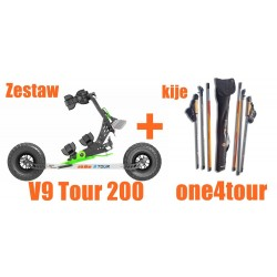 Zestaw SKIKE V9 TOUR 200 +...