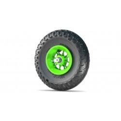 8' koło 200x50mm zielone z...